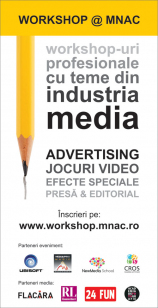 WORKSHOP @ MNAC de pe 5 mai
