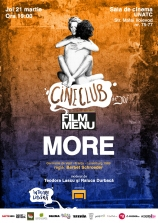 Cineclub FILM MENU: More (1969, r: Barbet Schroeder)