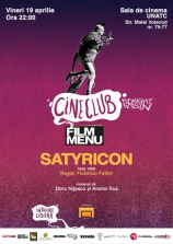 "Cineclub Midnight Session: ""Fellini - Satyricon"""