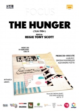 Cineclub FILM MENU - FOCUS QUEER: The Hunger (r. Tony Scott)