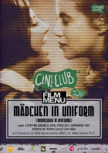 Cineclub FILM MENU: Mädchen in Uniform (r. Leontine Sagan,1931)