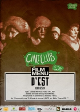 Cineclub FILM MENU: D'Est (Chantal Akerman)