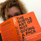 Semn de carte: The Subtle Art of Not Giving A F*ck