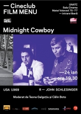 Cineclub FILM MENU: Midnight Cowboy (r. John Schlesinger, 1969)