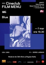 Cineclub FILM MENU: Blue (Derek Jarman, 1993)
