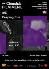Cineclub FILM MENU: Peeping Tom (Michael Powell, 1960)