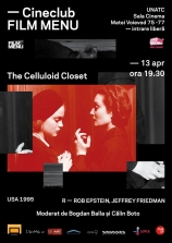 Cineclub FILM MENU: The Celluloid Closet (r. Rob Epstein, Jeffrey Friedman, 1995)