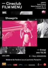 Cineclub FILM MENU: Showgirls (Paul Verhoeven, 1995)